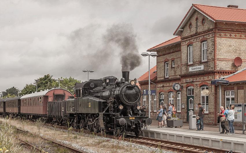 Die Angelner Dampfeisenbahn als Urlaubserlebnis