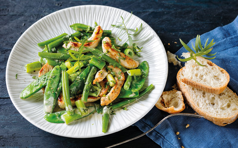 Geflügelpfanne mit Gemüse – Eine Mahlzeit in Minuten