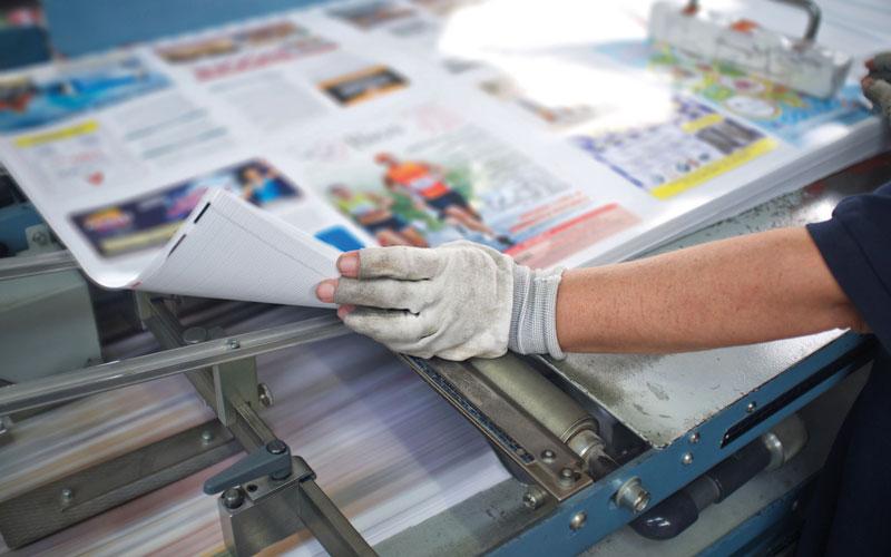 Medientechnologe – Druckverarbeitung